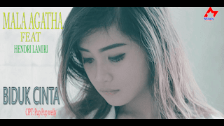 Lirik Lagu Mala Agatha - Biduk Cinta
