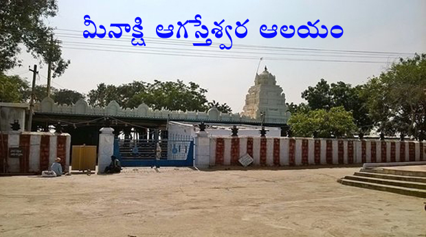 Meenakshi agasteshwara Temple
