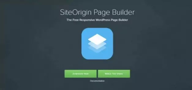 Site Origin plugin page builder