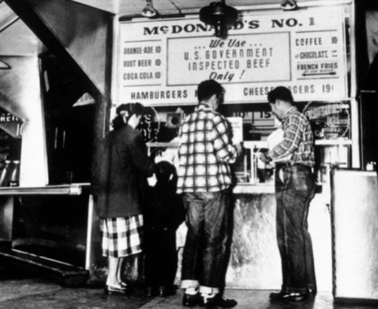 McDonald's Drive-in 1948