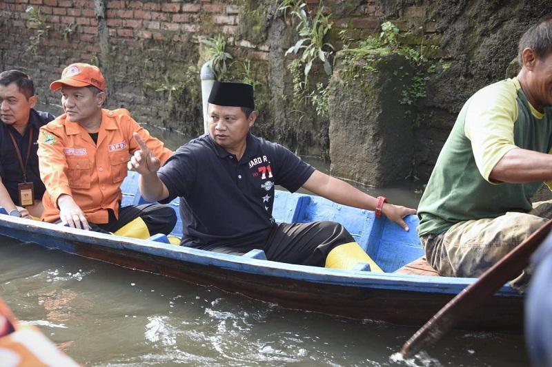 Wagub Jabar Tinjau Banjir Kabupaten Bandung