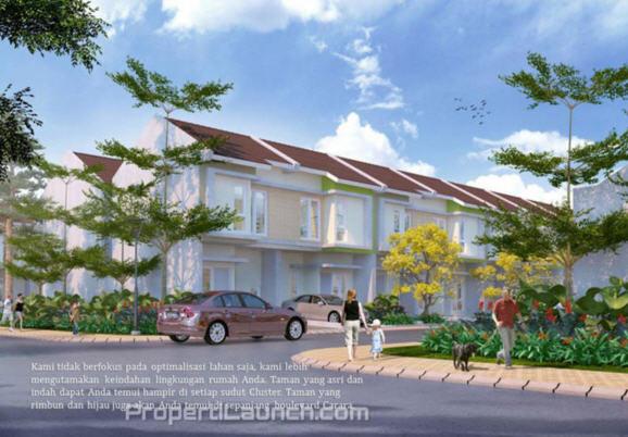 Cluster Carara Paradise Serpong City