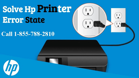 Why HP Printer Is In An Error State 1-855-788-2810 How To Fix