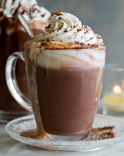 Hot Chocolate #drink #chocolate #party #easy #sangria