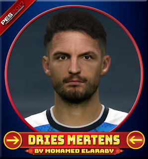 PES 2017 Faces Dries Mertens by M.Elaraby