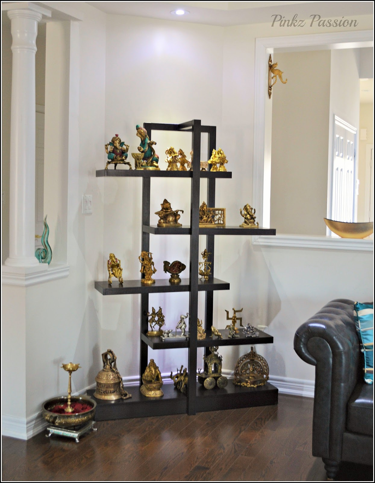 Pinkz passion love of brass for Ethnic home decor