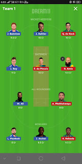 England vs SouthAfrica dream11 team | Match Report depth analysis