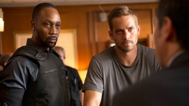 Tremaine (RZA), the ruthless drug lord with Damien (Paul walker)