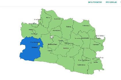 Daftar SMA Negeri Kabupaten Sukabumi Berdasarkan Sistem Zonasi PPDB Jabar 2019