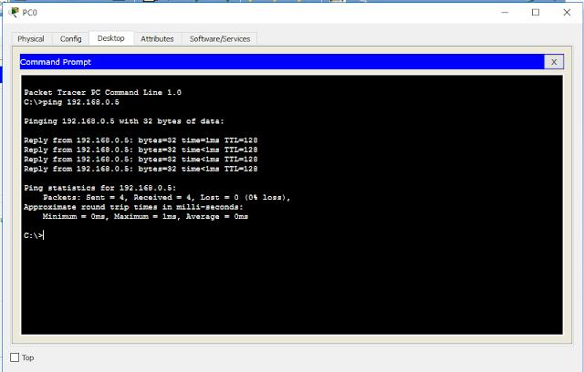 Membuat Jaringan Client Server Menggunakan DHCP