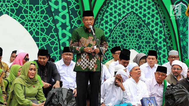 Umumkan Pensiun Ketum Di Harlah Muslimat NU, Said Aqil Ingin Husnul Khotimah