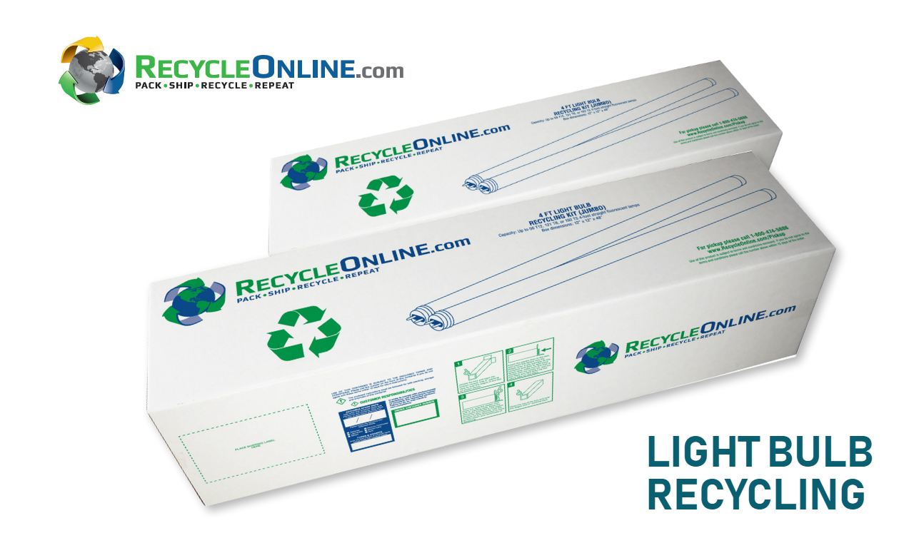Most Advanced Light Bulb Recycling Service by Recycle Online for a Green Environment