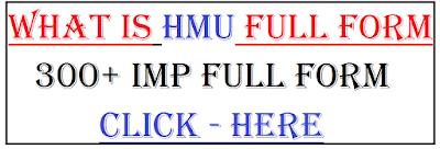 hmu full form