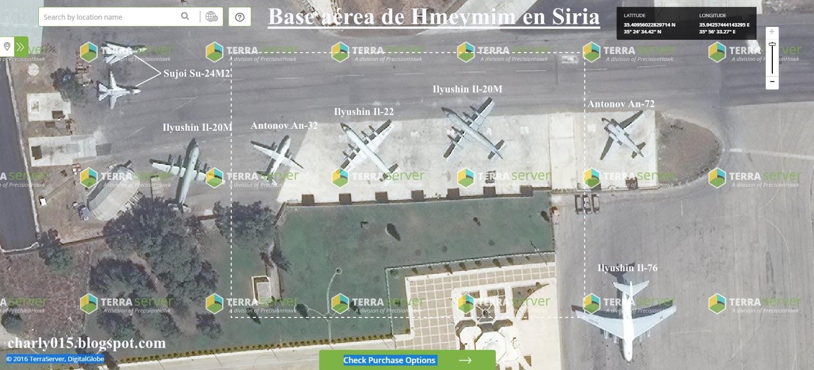 El Senado de Rusia autoriza el uso de las Fuerzas Aéreas en Siria - Página 2 Base%2Bhmeymim%2BIl-20M