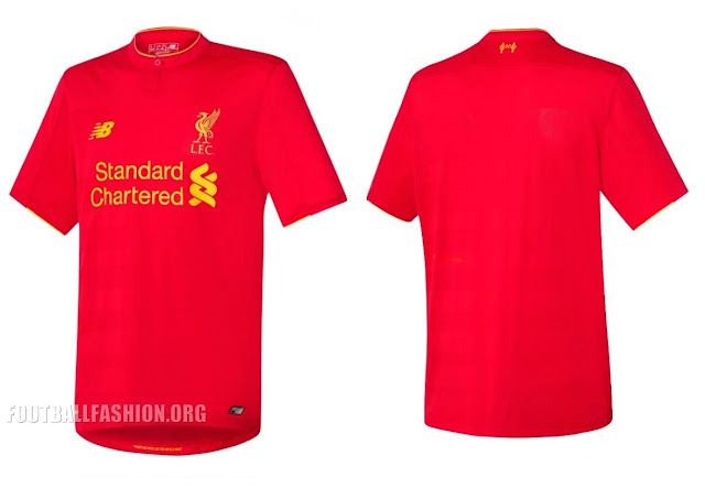 Liverpool Home 2016/2017