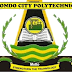 Ondo City Poly Post-UTME Screening Form 2020/2021   ND Full-Time