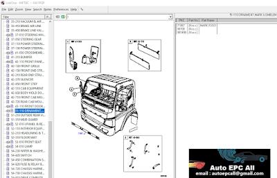 Mitsubishi Trucks & Buses EPC Parts Catalog [2018] - Auto