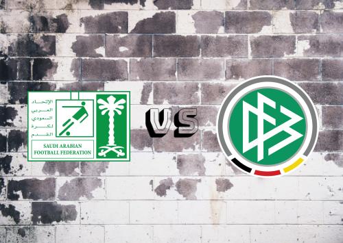 Saudi Arabia vs Germany Resumen y Partido Completo