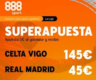 888sport superapuesta Celta vs Real Madrid 20-3-2021