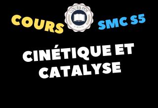 Cinétique Et Catalyse SMC5