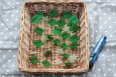 sight word basket