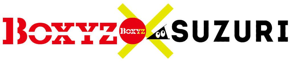BOXYZ×SUZURIのコラボショッピングサイト