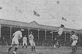 Uruguay y Chile en Campeonato Sudamericano de 1916