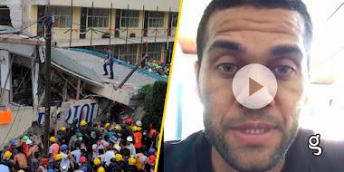 VIDEO: Cracks del fútbol envían ENORME mensaje a niño sobreviviente de la escuela Rébsamen