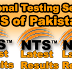 NTS Test Results & Answer Key 15 January 2017