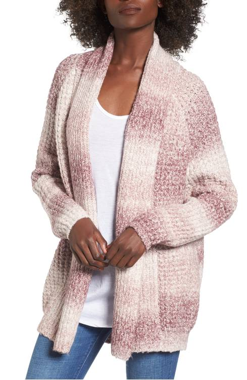 bp ombre cardigan