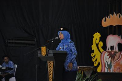 Bupati Chusnunia Tekankan Pembangunan Lampung Timur Libatkan Seluruh Elemen Masyarakat