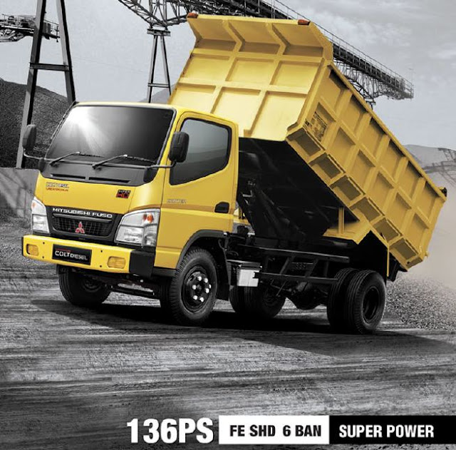 paket kredit dp super kecil colt diesel dump truck 2019
