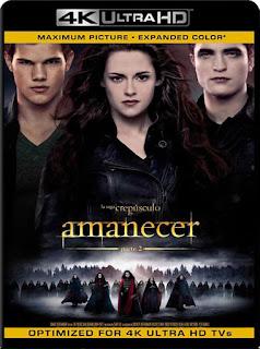 Crepúsculo la saga: Amanecer – Parte 2 (2012)4K 2160p UHD Latino [GoogleDrive]