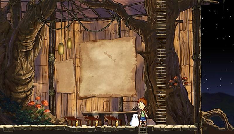 تحميل لعبة المغامرات الأكثر من رائعة A Boy and His Blob apk + obb للاندرويد