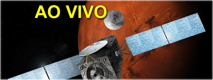 ao vivo - sonda europeia em Marte