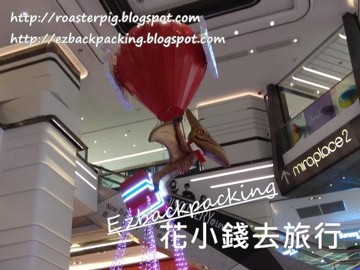 2020尖沙咀商場聖誕燈飾美麗華 Miraplace