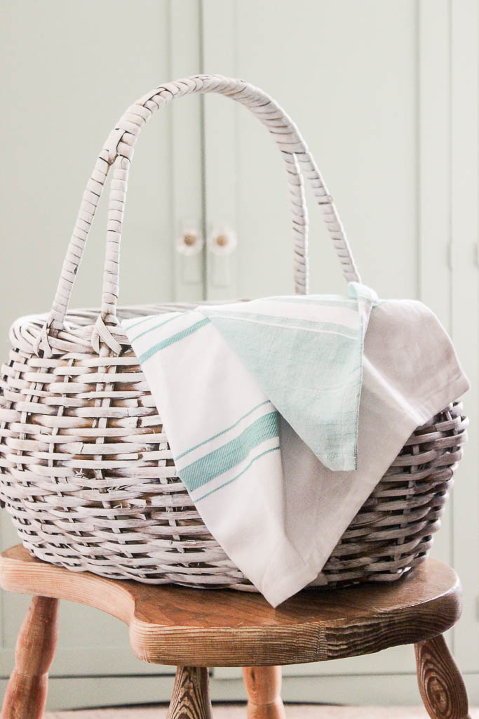 DIY French antique basket
