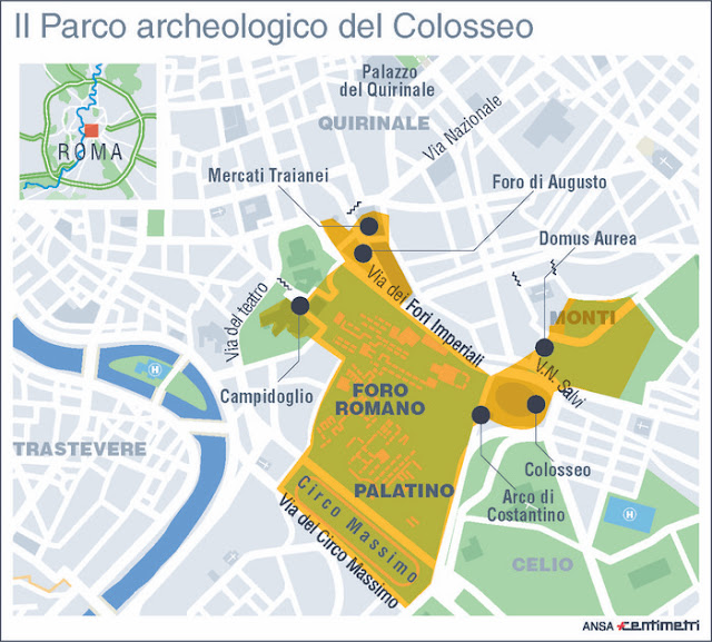 Colosseum to become part of archaeological park
