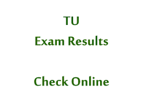TU Exam Results Check Online