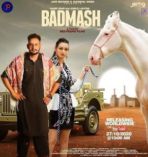 Badmash by Gurlez Akhtar ft. Rabby Brar Mp3 Song - DjPunjab