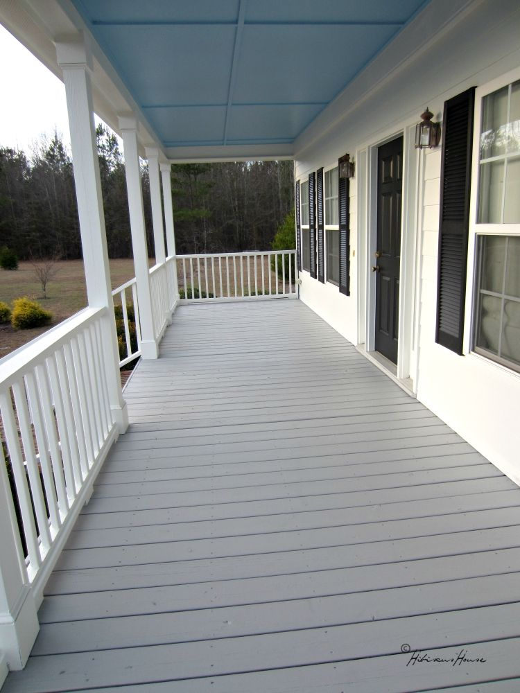 Hibiscus House Would You Like To See Our New Porch Floor