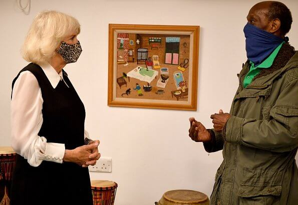 The Pepper Pot Centre in Ladbroke Grove was founded in 1981 by Pansy Jeffrey, a Windrush generation activist. leopard print mask