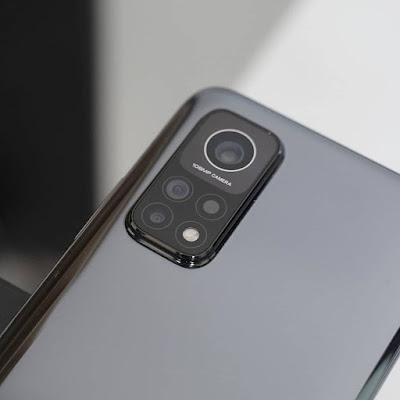 الكاميرات الخلفية في هاتف MI 10T