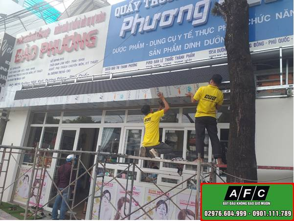 Thi công bảng hiệu Alu giá rẻ chuyên nghiệp tại Phú Quốc