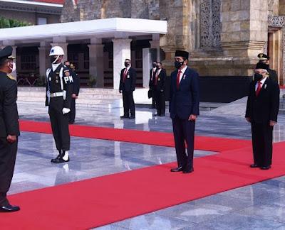 Presiden RI Pimpin Upacara dan Penganugerahan Gelar Pahlawan Nasional
