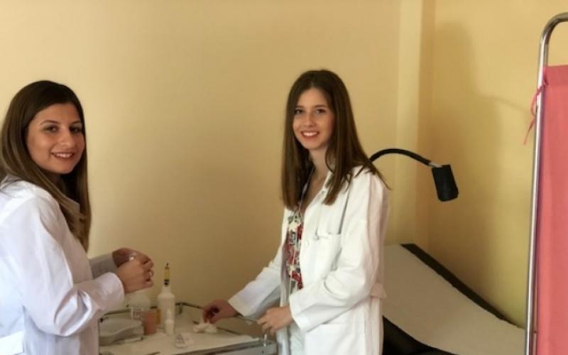 6 φοιτητές από Θεσσαλονίκη εθελοντές σε Κέντρα Υγείας στη Χαλκιδική