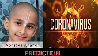 Abhigya Anand predicted Corona in 2019 August