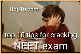 Top 10 tips for cracking NEET exam