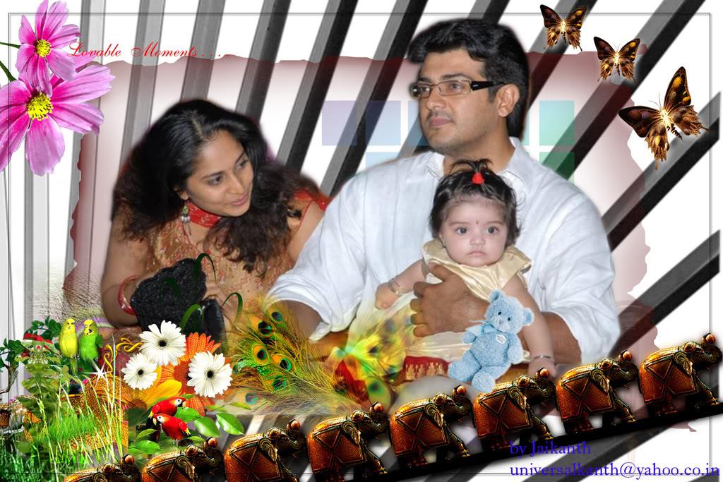 Actor Ajith..,: Ajith Family AlbumAjith Family Album
