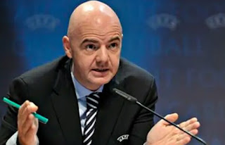 Gianni Infantino the Fédération Internationale de Football Association President has made the declaration that there is no match until coronavirus